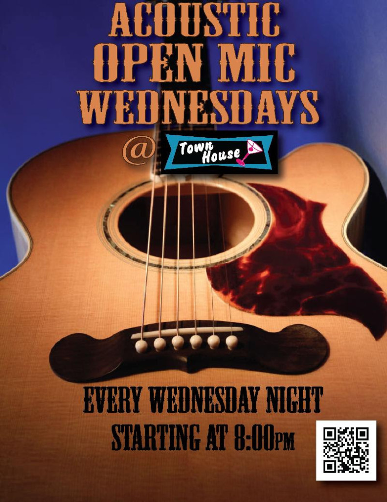 Acoustic Open Mic at the Townhouse