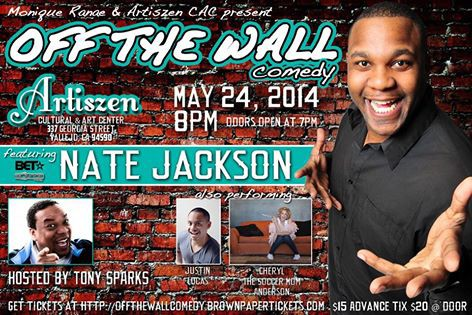Off the Wall Comedy with Nate Jackson