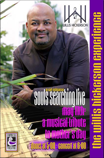 "The Willis Hickerson Experience, ""Soul Searching Live"""