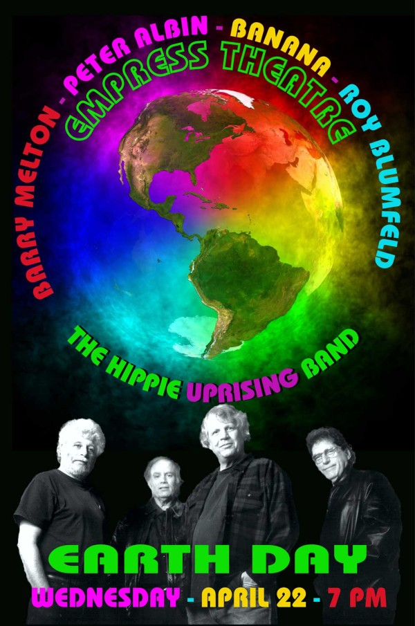 Earth Day Celebration featuring The Barry Melton Band, Peter Albin, Banana, Roy Blumenfeld and many more