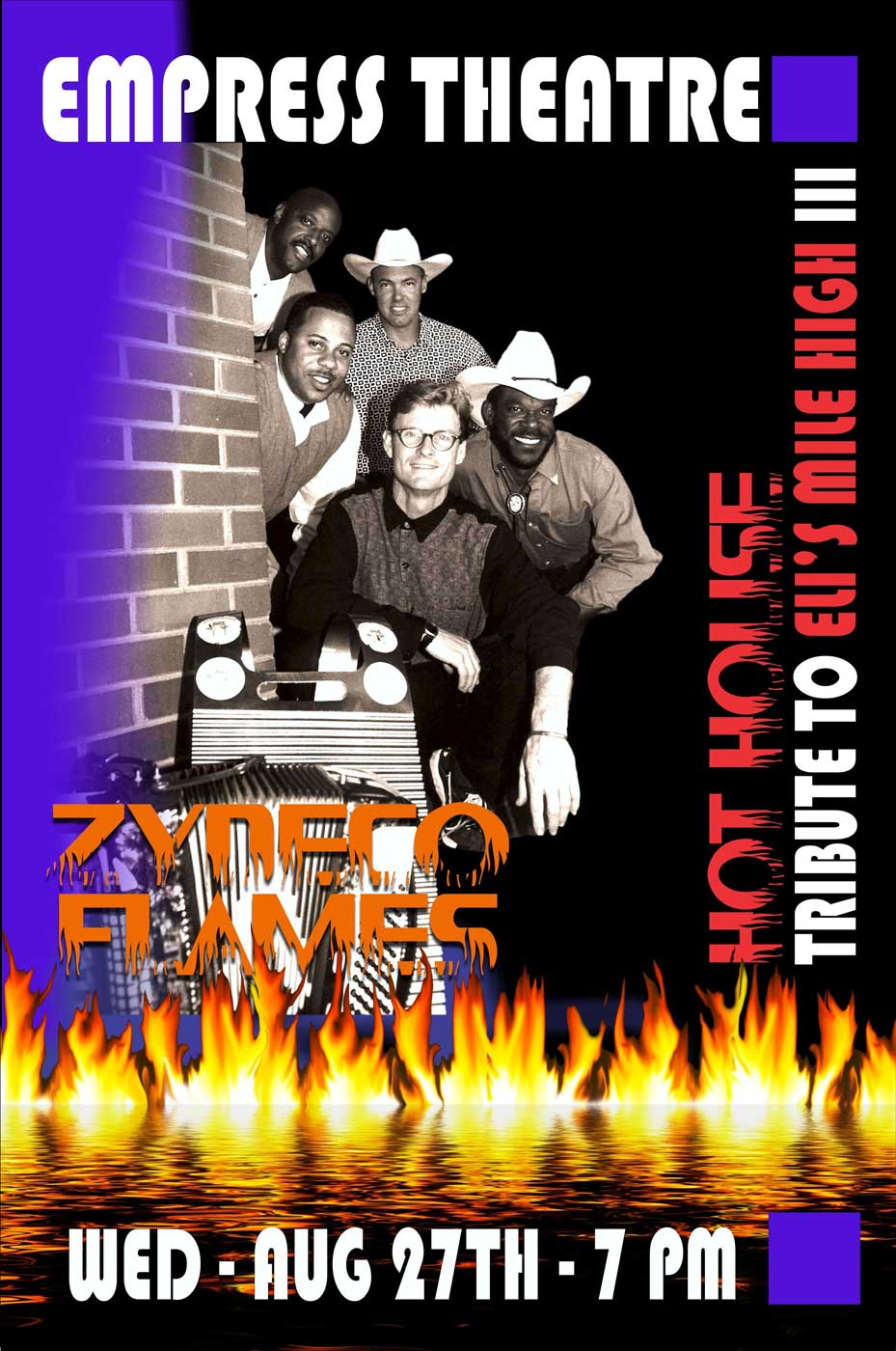 Empress Zydeco Flames