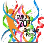 GVRD 70th Birthday logo