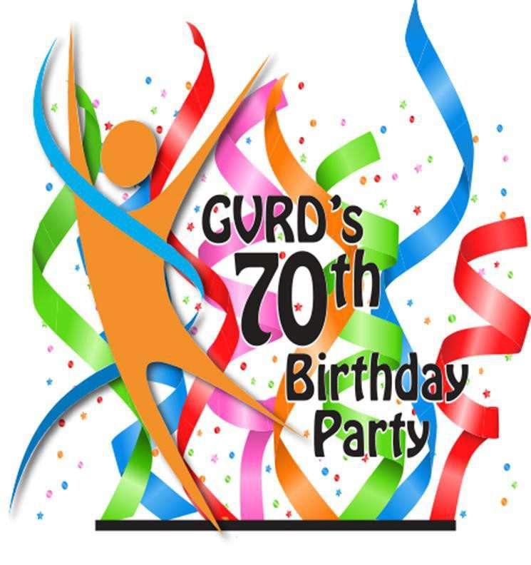 GVRD 70th Birthday logo