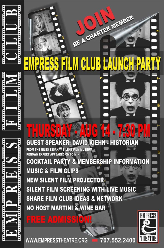 Empress Theatre Film Club Launch Party