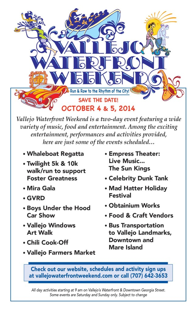 Vallejo Waterfront Weekend FLyer