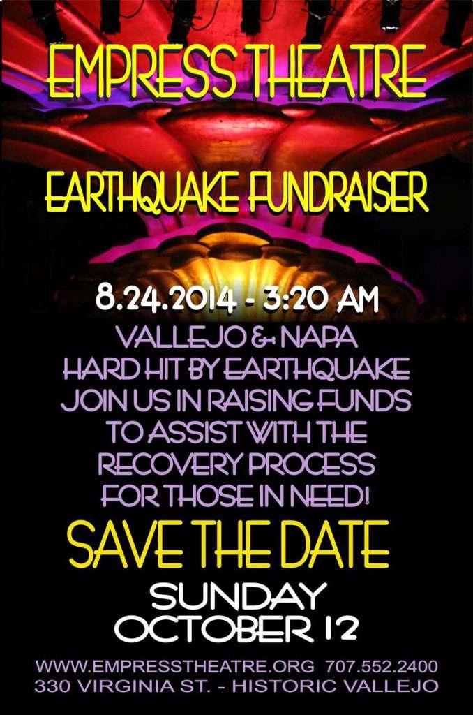 Earthquake Fundraiser