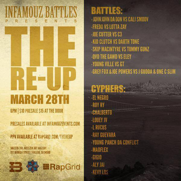 Rap Battles x Cyphers