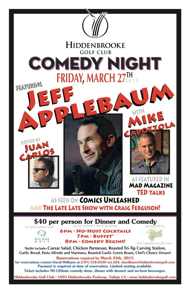 March 27 2015 Comedy Circuit