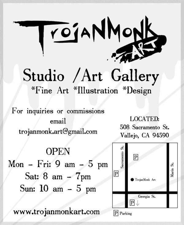 TroJanMonk Art Studio