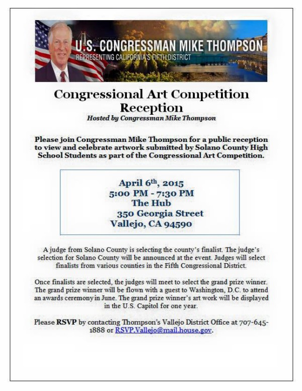 Congressional Art Competition Reception