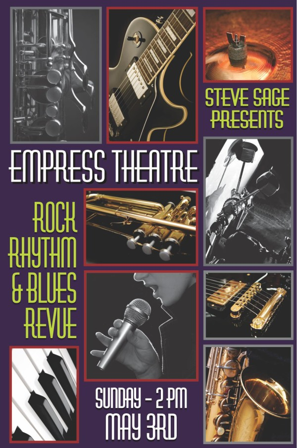 Steve Sage Revue: Rock, Rhythm, and Blues