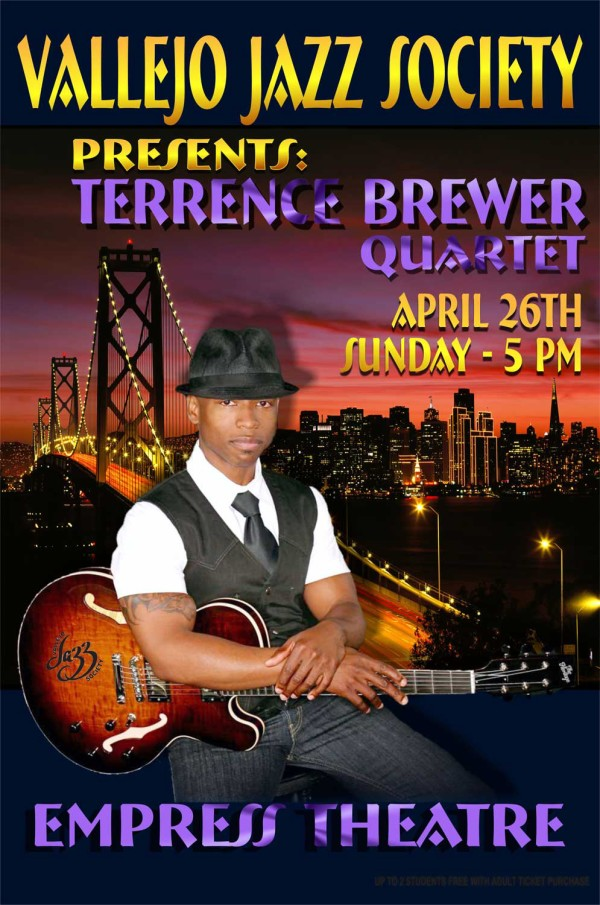 Vallejo Jazz Society – Terrence Brewer Quartet