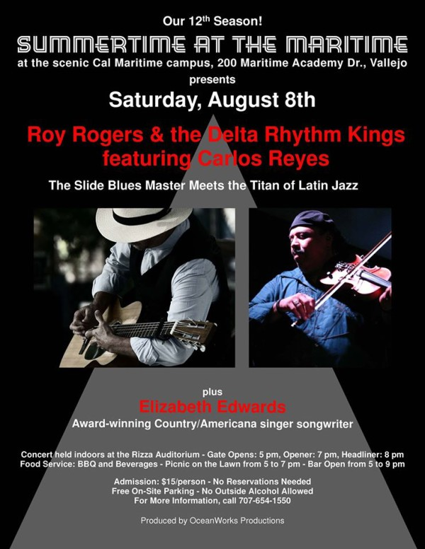 ROY ROGERS and THE DELTA RHYTHM KINGS featuring CARLOS REYES