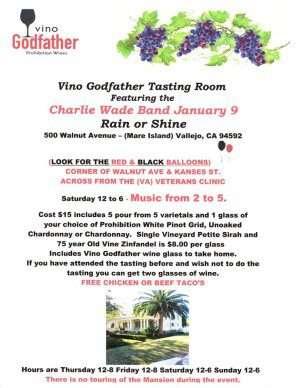 Vino Godfather January 9