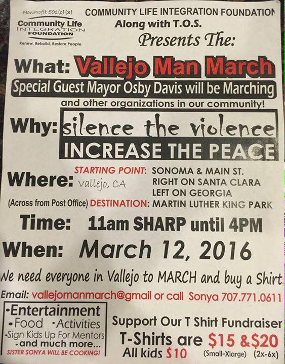 Vallejo Man March