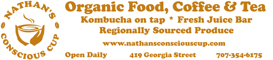 Nathan'a Conscious Cup - Organic Food in Downtown Vallejo