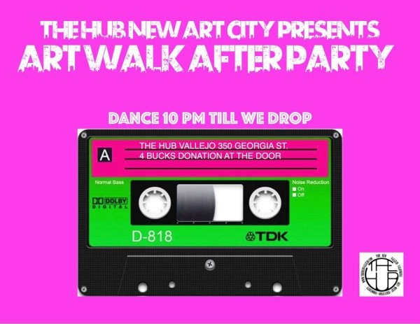 art walk after party with dj keith vallejo arts entertainment