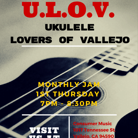 Ulov Ukulele Lovers Of Vallejo Vallejo Arts Entertainment