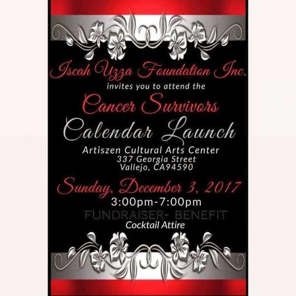Cancer Awareness Calendar Launch Party – Vallejo Arts & Entertainment