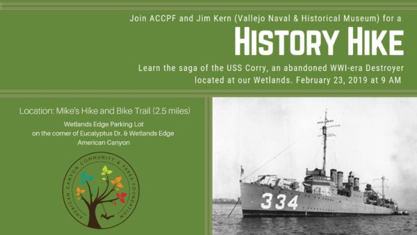 History Hike Uss Corry Vallejo Arts Entertainment